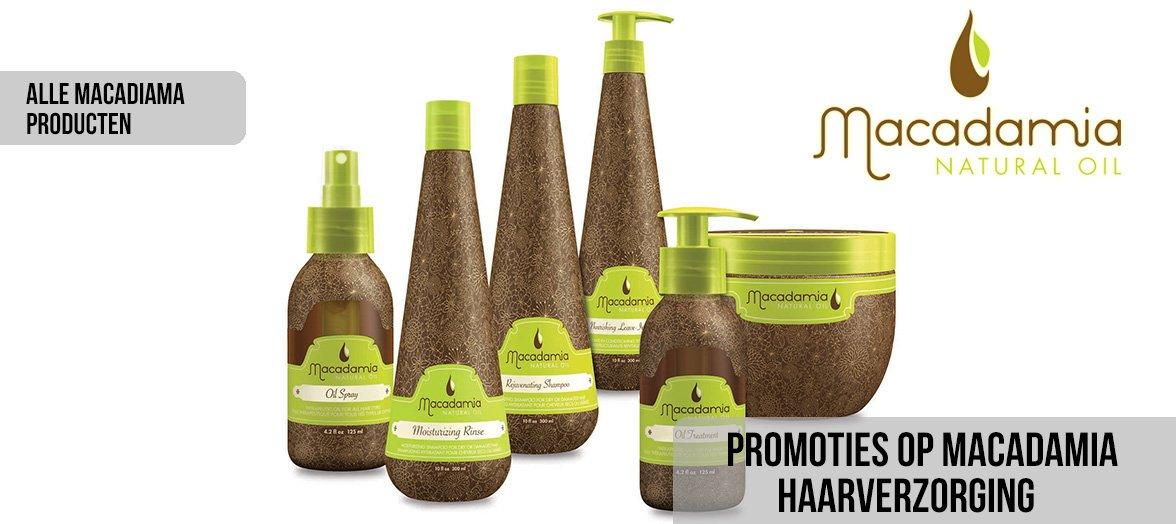 Promotie op alle Macadamia-producten