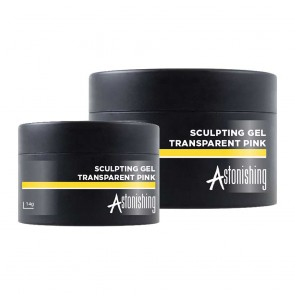 Astonishing Builder Sculpting Gel Transparent Pink