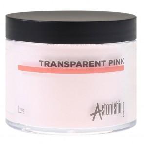 Astonishing Nails Acryl Poeder Transparent Pink