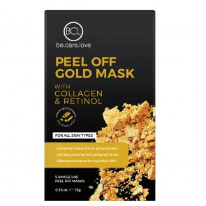 BCL Spa Peel Off Gold Mask - 5st