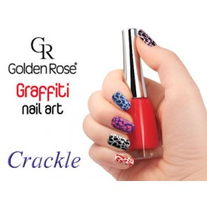 Graffiti Nail Art Crackle