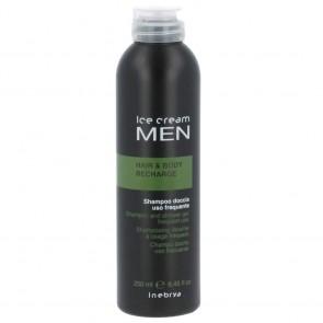 Inebrya Ice Cream Men Hair & Body Recharge Shampoo 250ml