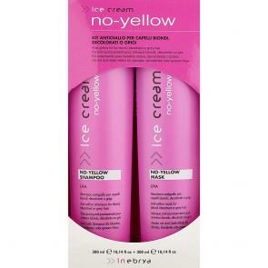 Inebrya Ice Cream No Yellow Kit Shampoo + Masker