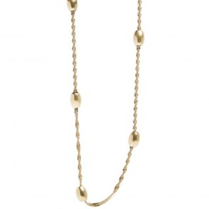 Silis Necklace Bean Gold Out