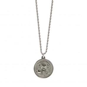 Silis Necklace Coin XL So Silver