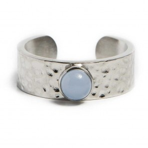 Silis Ring Gypsy Stud So Silver