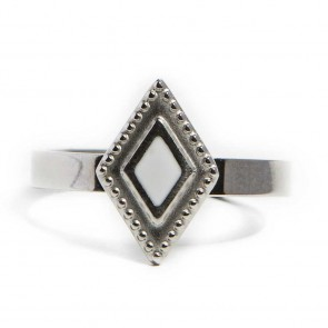 Silis Ring Square So Silver