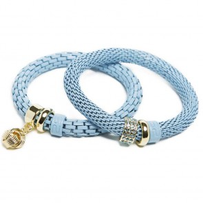 Silis The Snake Strass Sky Blue Knot