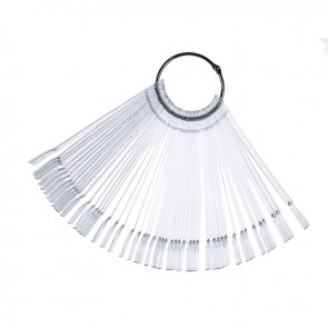 Kleurenwaaier - ring voor Nagellak 50st